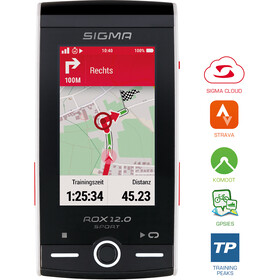 SIGMA SPORT ROX GPS 12.0 Sport Bicycle Computer Set white